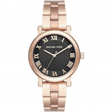 Michael Kors Women's Watch Only Time Norie Collection Rosegold