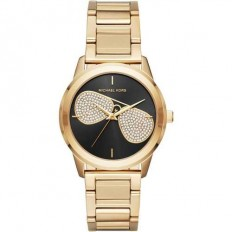 Michael Kors Woman Watch Only Time Hartman Collection Gold