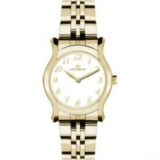 Lorenz Women's Watch Only Time Blue Moon Collection Gold White