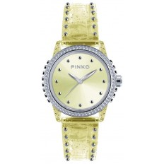 Pinko Watch Woman Only Time Durian Collection Yellow