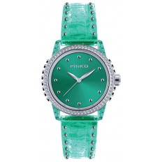 Pinko Watch Woman Only Time Durian Collection Green