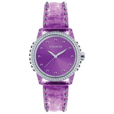 Pinko Watch Woman Only Time Durian Collection Purple