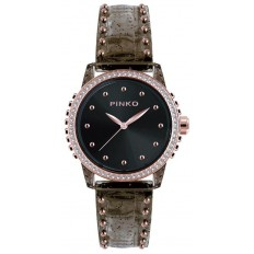 Pinko Watch Woman Only Time Durian Collection Black