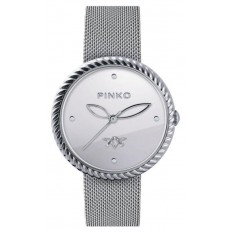 Pinko Watch Woman Only Time Guaiava Collection Silver