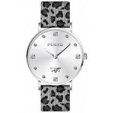 Pinko Watch Woman Only Time Edulis Collection Silver/Pink