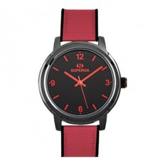 Superga Orologio Donna Solo Tempo Red Fabric