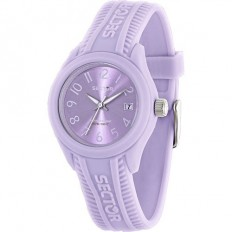 Sector Watch Women Only Time Steel Touch Collection Lilac
