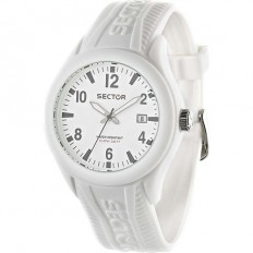 Sector Unisex Watch Only Time Steel Touch Collection White