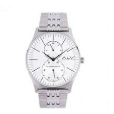 Alviero Martini Men's Watch Only Time ALV Collection Silver