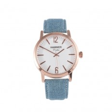Hammer Watch Only Time Portofino Collection Lightblue
