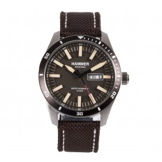 Hammer Watch Man Only Time Sporting Collection Brown