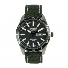 Hammer Watch Man Only Time Sporting Collection Green