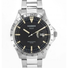 Hammer Watch Man Only Time Ego Collection Black