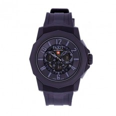 Pajot Watch Man Chronograph Ticino Collection Black