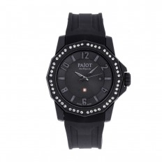 Pajot Watch Woman Only Time Ticino Collection Black