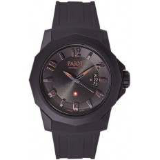 Pajot Watch Man Only Time Ticino Collection Black
