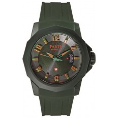 Pajot Watch Man Only Time Ticino Collection Green