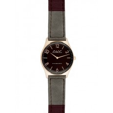 Alviero Martini Women's Watch Only Time ALV Collection Bordeaux/Grey