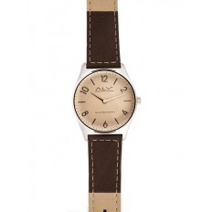 Alviero Martini Women's Watch Only Time ALV Collection Brown/Beige
