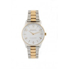 Alviero Martini Women's Watch Only Time ALV Collection Silver/Gold