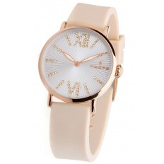 Hoops Women's Watch Only Time Folie Gold Collection Light Pink