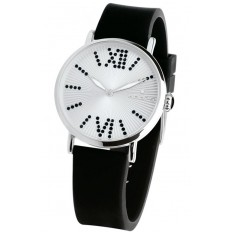 Hoops Women's Watch Only Time Folie Collection Black