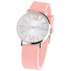 Hoops Women's Watch Only Time Folie Collection Pink