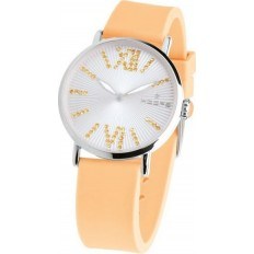 Hoops Women's Watch Only Time Folie Collection Orange
