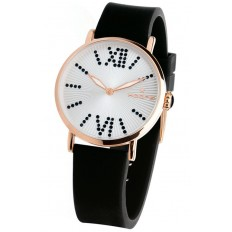 Hoops Women's Watch Only Time Folie Gold Collection Black