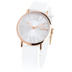 Hoops Women's Watch Only Time Folie Gold Collection White