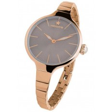 Hoops Women's Watch Only Time Nouveau Cherie Collection Brown