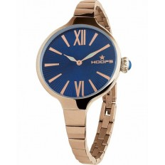 Hoops Women's Watch Only Time Chérie Midi Gold Collection Blue