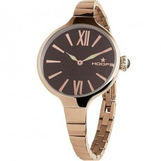 Hoops Women's Watch Only Time Chérie Midi Gold Collection Brown