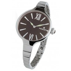 Hoops Women's Watch Only Time Chérie Midi Collection Brown