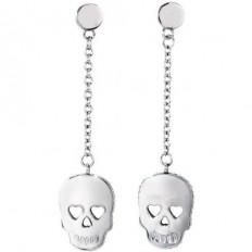 2Jewels Orecchini Donna Pendenti Skull