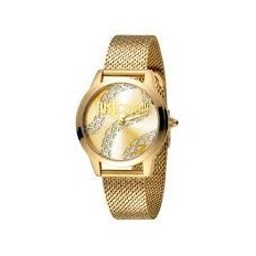 Just Cavalli Women's Watch Only Time Gold/White