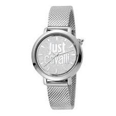 Just Cavalli Women's Watch Only Time Silver/Silver