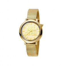 Just Cavalli Women's Watch Only Time Gold/Gold