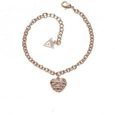 Guess Bracelet Woman Heart Rosegold