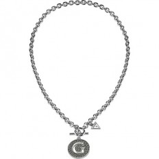 Guess Necklace Woman G Girl Collection Black