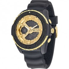 Sector Watch Man Digital Street Digital Collection Gold/Black