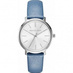 Michael Kors Women's Watch Only Time Jaryn Collection Lightblue