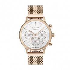 Gant Watch Woman Chronograph Tilden Lady Collection Rosegold Mother-of-Pearl