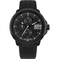 Superdry Watch Unisex Multifunction Kyoto Collection Black