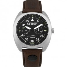 Superdry Watch Unisex Multifunction Scout Aviator Collection Brown