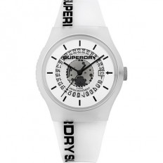 Superdry Watch Unisex Only Time Urban Collection White