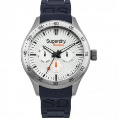 Superdry Watch Unisex Multifunction Scuba Collection Blue
