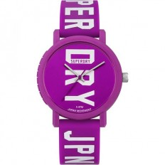 Superdry Watch Woman Only Time Campus Collection VIolet