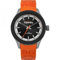 Superdry Watch Man Only Time Scuba Collection Orange