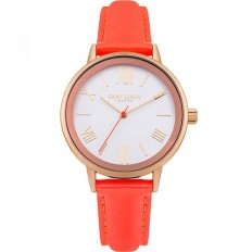 Daisy Dixon Watch Woman Only Time Kourtney Collection Orange